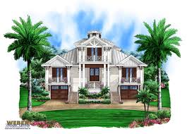 Olde Florida house plan perfect for waterfront lot   Weber Design    Olde Florida House Plan