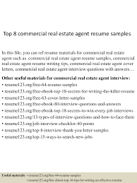 real estate agent resume sample lead electrical engineer sample resume 4jpg cb 1432734808 top8commercialrealestateagentresumesamples 150527135238 lva1 app6892 thumbnail 4 top 8 commercial real estate agent resume samples