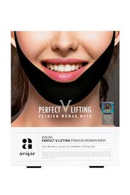 AVAJAR perfect V lifting premium woman black mask - умная ...