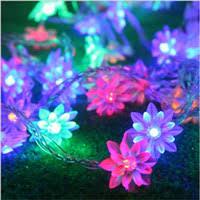Discount <b>Lotus Flower String</b> Lights