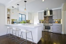 white kitchen cabinets contemporary view full size contemporary two tone kitchen design with white