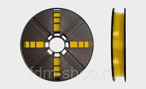 <b>PLA пластик</b> MakerBot 1.75 мм <b>Прозрачный желтый</b> 0.9 кг ...