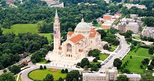The Basilica of the National <b>Shrine</b> of the Immaculate Conception
