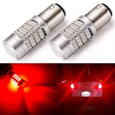 TUINCYN <b>1157</b> BAY15D LED Bulb Red Super Bright 2057 2357 ...
