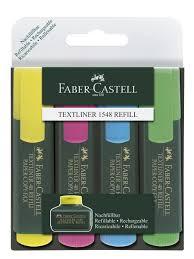 <b>Faber</b>-<b>Castell</b> / <b>Текстовыделитель</b> 1548, набор цветов, в футляре ...