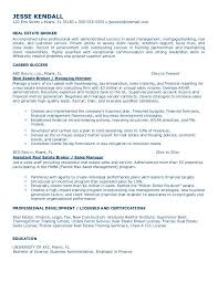 Cover Letter  Realtor Resume Sample for Professional Profile  real     Rufoot Resumes  Esay  and Templates     Cover Letter  Real Estate Broker Resume Sample With Career Success In Managing Member And As