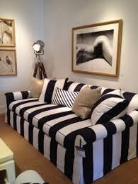meredith heron design black and white striped couch black and white striped furniture