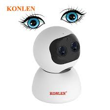 KONLEN Home Security Robot IP WIFI Camera <b>HD 1080P</b> 960P ...