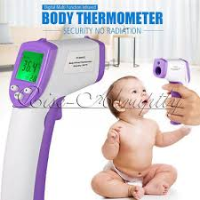 Baby Body <b>LCD Digital IR</b> Infrared Thermometer Non-Contact Laser ...