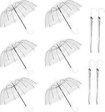 New Long Handle <b>Automatic Umbrella</b> Clear Bubble <b>Umbrella Auto</b> ...