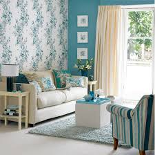 ideas wallpaper living room retro floral wallpaper design ideas for small living room with yellow