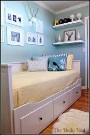 love this ikea daybed for guestoffice combo charming small guest room office