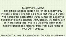 OEM Subaru Forester <b>Rear Trunk</b> Mesh <b>Cargo Net</b> Review - video ...