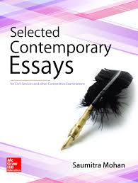 buy essays civil services main examination book online at low selected contemporary essays