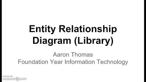 entity relationship diagram  library    youtubeentity relationship diagram  library