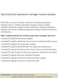 toptechnicaloperationsmanagerresumesamples lva app thumbnail jpg cb