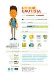when infographics meet resume   excellent examples   blog of     curriculum vitae by robx bautista