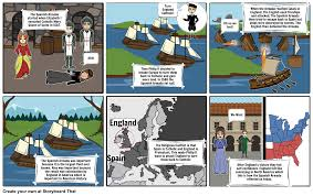 the spanish armada storyboard by milkanegasi