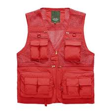 Waterproof Tactical <b>Mesh Vest</b> For Men <b>Quick Dry</b> Multi Pockets ...