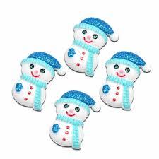 LF <b>10Pcs</b> Resin <b>Christmas Tree</b> Patch Decoration Crafts Flatback ...