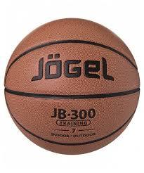 Купить Баскетбольный <b>мяч Jogel JB</b>-300 <b>№7</b>, р. 7 коричневый по ...