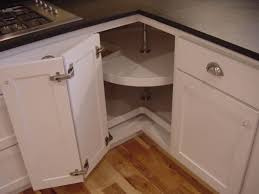 Kitchen Cabinets Lazy Susan White Kitchen Cabinets With Slate Countertops And Lazy Susan