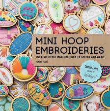 <b>Wooden Mini Embroidery Hoops</b> Frame Small Hand Stitching Hoops ...