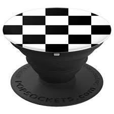Купить <b>Подставка</b> PopSockets 800155 Checker <b>Black</b> в каталоге с ...
