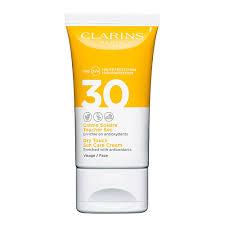 Солнечная линия CLARINS <b>Солнцезащитный крем для</b> лица ...
