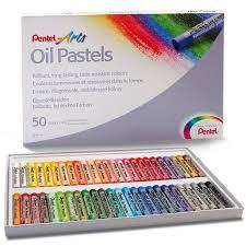 <b>Пастель масляная Pentel</b> Oil Pastels, 50 цветов - купить ...