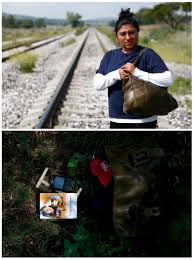 photo essay migrants share their most cherished belongings pbs n immigrant jennifer mendez 27 tries to board a train heading to the u s