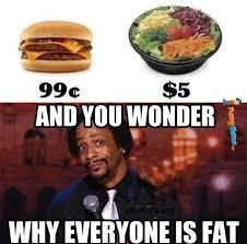 Funny memes - And you wonder why everyone is fat | FunnyMeme.com via Relatably.com