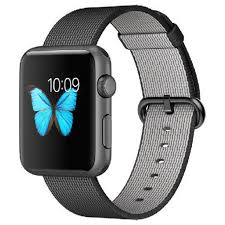 buy smart watches at argos co uk your online shop for technology more details on apple watch 2015 42mm space gray case and black woven strap