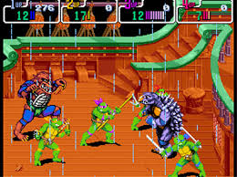 Teenage Mutant Ninja Turtles - Turtles in Time (Mame)