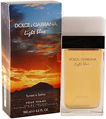DOLCE & GABBANA <b>Light Blue Sunset In</b> Salina 100ml Edt SPR (W ...