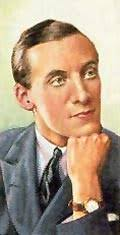 Cigarette-card portrait of composer Fred Hartley, courtesy of wirelessworks.co.uk - fredhartley