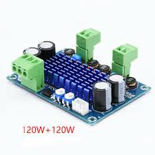 tpa3116d2 high power digital amplifier board 2 0 channel 50w 2 tpa3116 stereo audio amplifiers dc12 24v