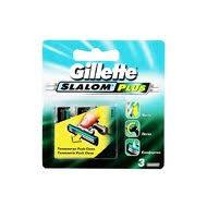 Характеристики <b>GILLETTE</b> Slalom Plus <b>Кассеты д</b>/бритья 3шт ...