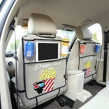 Dewtreetali <b>Car</b> Back <b>Seat</b> Protector Thicken <b>Seat Cover</b> Anti-kick ...