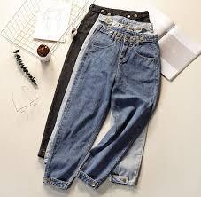 New <b>Boyfriend Jeans Vintage</b> High Wist <b>Jeans</b> Women 2019 Spring ...