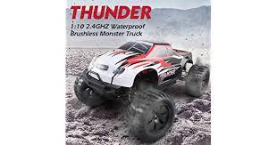 JJR/C <b>Q48</b> Thunder RC <b>Big</b> Foot Truck 2.4GHz 4WD 1/10 Brushless ...