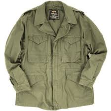 Alpha Industries M 43 Field <b>Coat</b> MJM38020C1 Field <b>Jacket</b> Olive ...