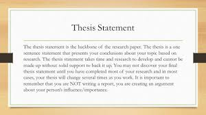research paper primary and secondary sources sources are 13 thesis statement the thesis statement is the backbone of the research paper
