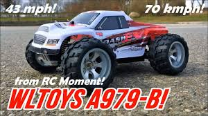 WLToys A979-B Monster! Fast! <b>High Speed</b> 70 kmph/43 mph <b>1/18</b> ...