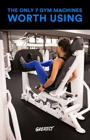 The Only 7 <b>Gym</b> Machines <b>Worth</b> Using | Planet <b>fitness workout</b>, Best ...