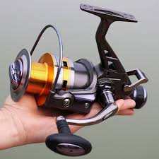 Carp <b>Fishing Reel</b> Full <b>Metal</b> Body <b>Spinning</b> Reel Schriftrollen ...