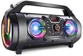 bluetooth speakers with fm radio - Amazon.com