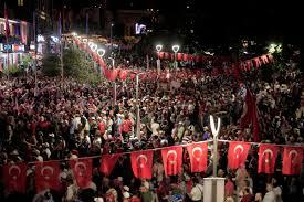 Trabzonlular Atatürk Alanı'nı doldurdu