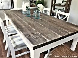 wood dining room set country