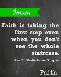 Kwanzaa Imani means Faith | Kwanzaa Solutions | Pinterest | Faith ... via Relatably.com